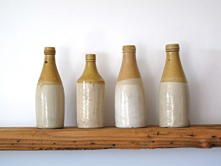 Vintage stoneware bottles many people suggest these for Uses for old glass bottles