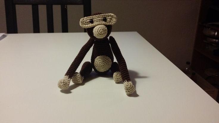 Hæklet KB-abe