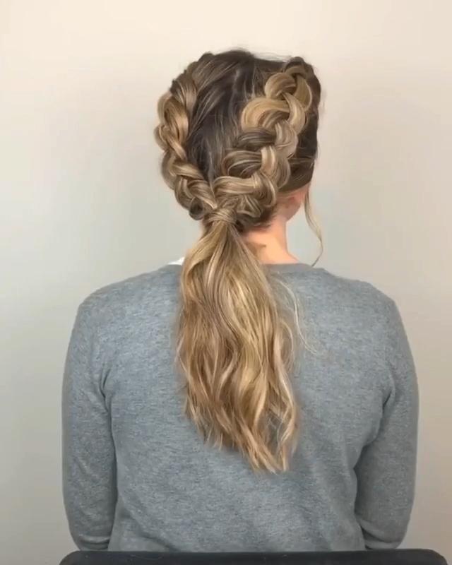 Pin by Mhot Hair on hair tutorial [Video] | Hair styles, Hairdo for long hair, Bun hairstyles for long hair