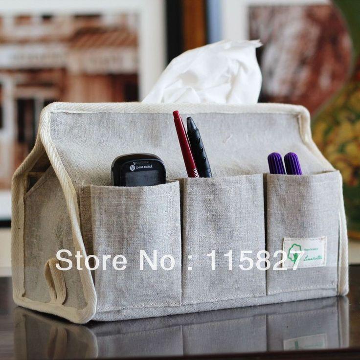 Минимальный заказ $20 (смешанный деталь) сумка для хранения белья мешок с 6 карманные салфетки коробка