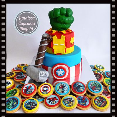 Torta Avengers - Cake