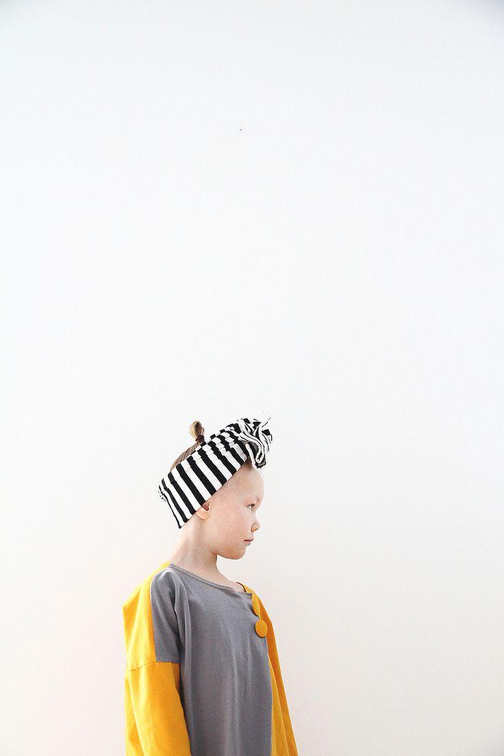 Siiri wearing Papu and Marimekko