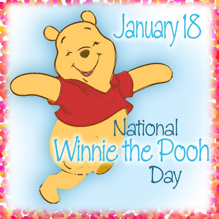 January 18th is National Winnie the Pooh Day! Celebrate and eat a lot of honey!!  minemoz69's media