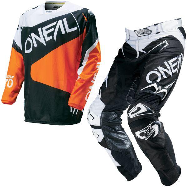 2016 ONeal Hardwear Flow Kit Combo - Black Orange