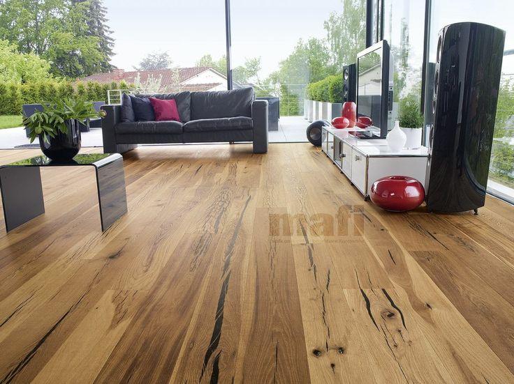Tiger Oak vulcano blk, living room