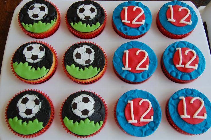 voetbalcupcakes