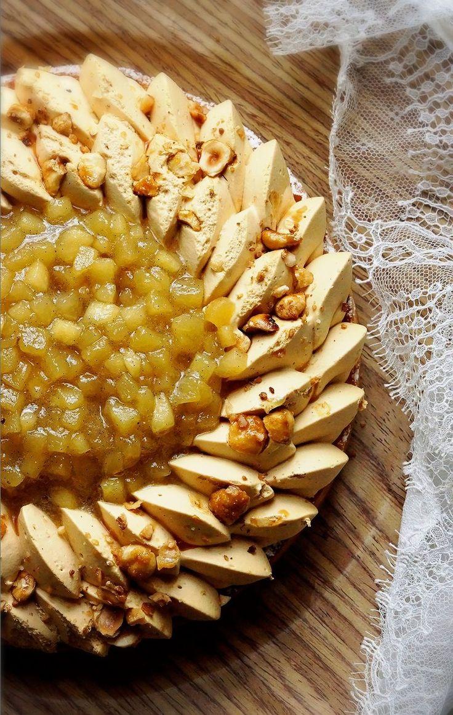 tarte pommes caramel