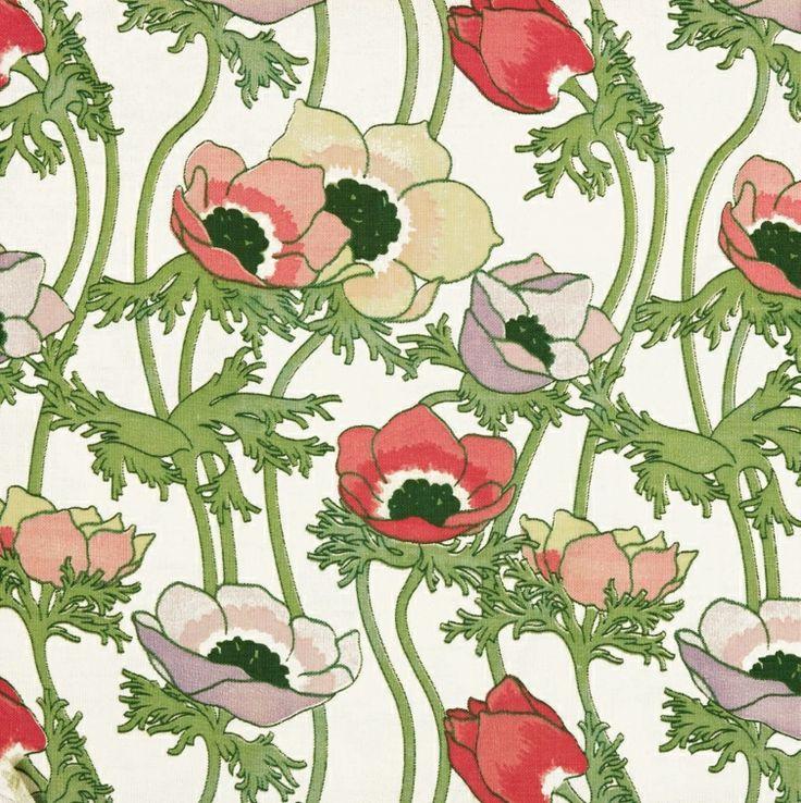 Virginia Screen-printed cotton, 1936 Summer 2014
