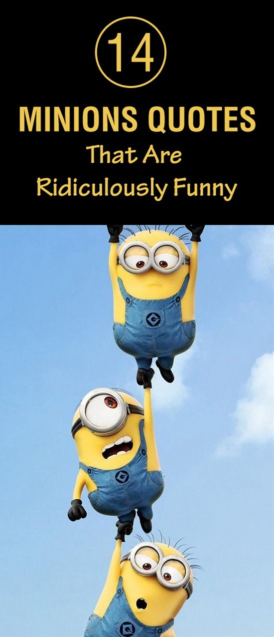14 Minions Quotes That Are Ridiculously Funny Humor