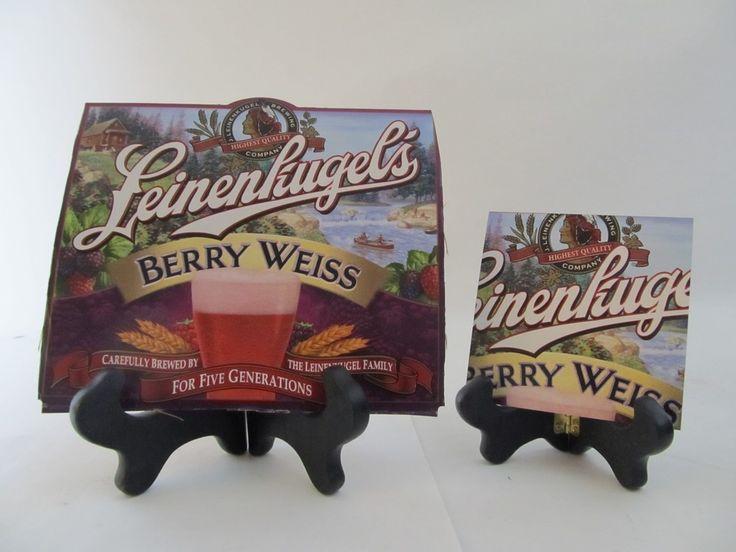 Berry Weiss Beer Coaster