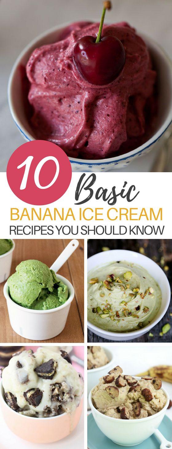 Diese 10 Rezepte für gesunde Bananencreme sind eine perfekte und …   – DIYbunker-The Best of