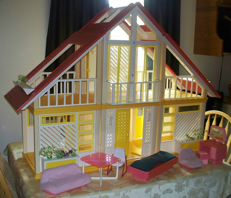 So Wanted This Barbie Doll House When I Was Little. I
