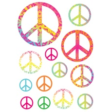 Best Murals  Peace Signs Murals Images On Pinterest Peace - Vinyl wall decals bed bath and beyond