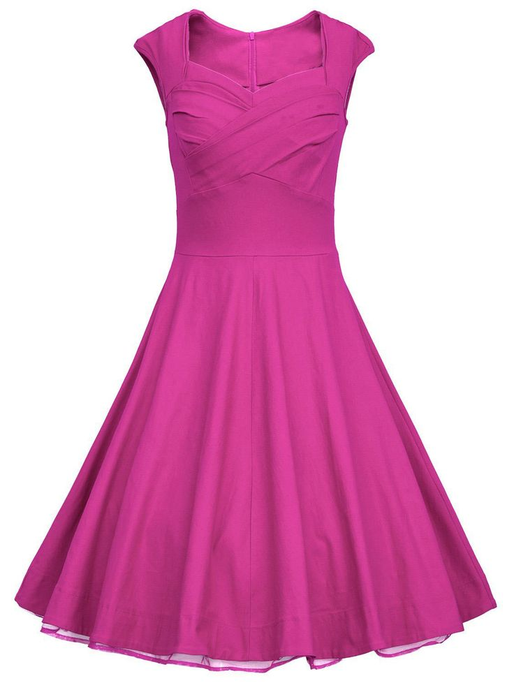 1000  ideas about Pink Vintage Dresses on Pinterest  Vintage ...