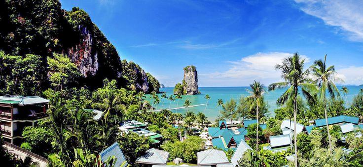 Centara Brand Beach @Krabi, Nice private beach, luxury away from Krabi's noicy beach.