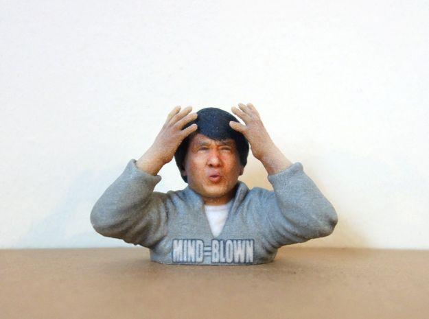 Jackie Chan Mind Blown meme 3D print. by Soulstice