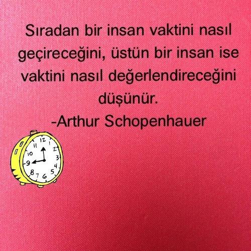 Zaman o kadar değerli ki bir saniyesi bile boşa geçmemeli hayatın.