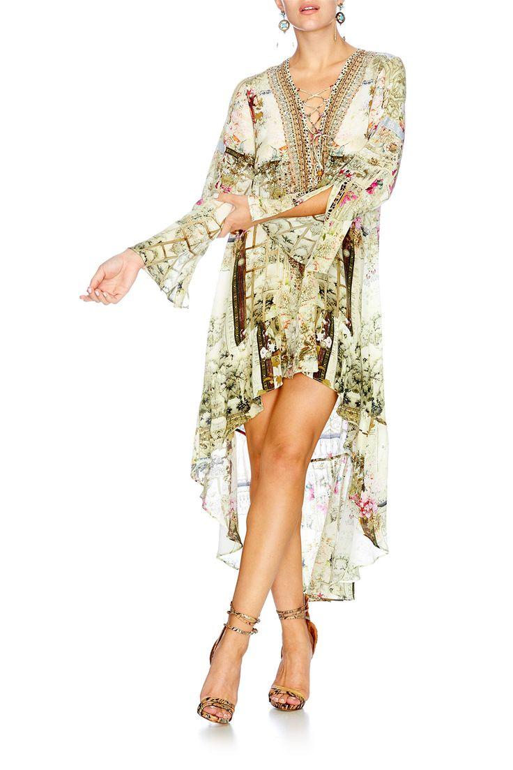 GIRL IN THE GARDEN SHORT DRESS W HIGH LOW HEM | CAMILLA