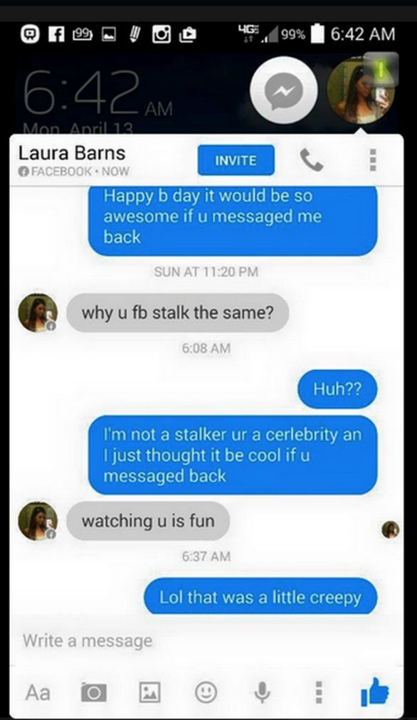Talking robot social media campaign for Unfriended movie