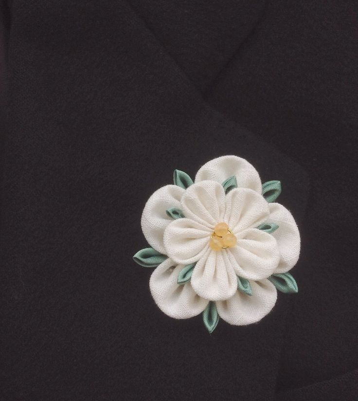 Mens Lapel Pin Flower Lapel White Lapel Flower Yorkshire Rose Kanzashi Custom Lapel Pins Men Wedding  Boutonniere Groomsmen Gifts For Him by exquisitelapel on Etsy https://www.etsy.com/listing/479438830/mens-lapel-pin-flower-lapel-white-lapel