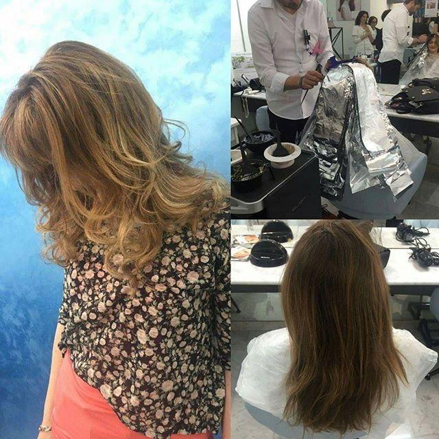 Luce nei capelli , tecnica DEGRADE' JOELLE -prima e dopo-  #degradè#joelle#maesahairbeauty#hair#haistylist#italy#chieti#beforeandafter#beautifulhair#love#sun#ilsoletraicapelli
