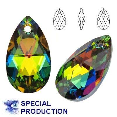6106 Pear-shaped 22mm Vitrail Medium  Dimensions: height - 22,0mm Colour: Vitrail Medium 1 package = 1 piece