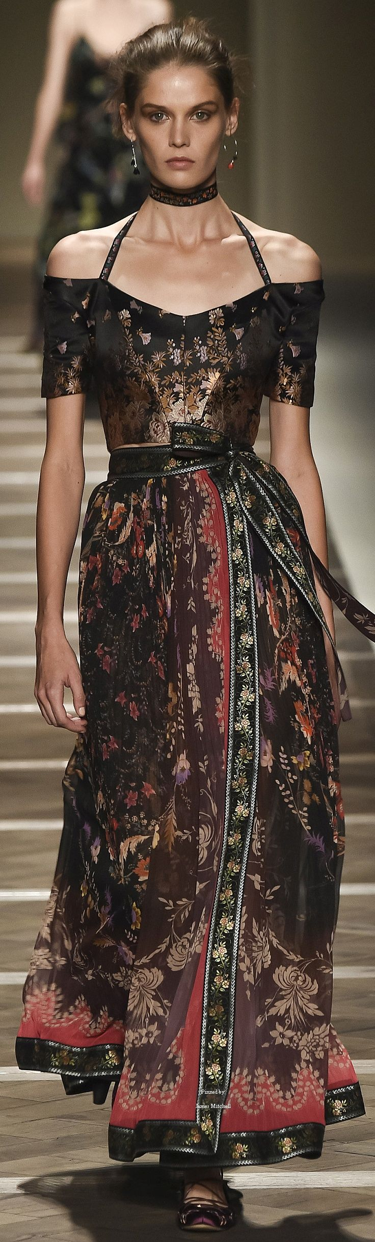 """Etro Collection Spring 2016 Ready-to-Wear """"And the LORD said to Moses, """"Go to the people and consecrate them today and tomorrow. Have them wash their clothes."""" Exodus 19:10"""