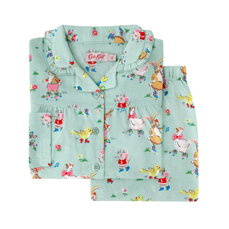 Skate Party Kids Woven PJs Gifts for Kids CathKidston