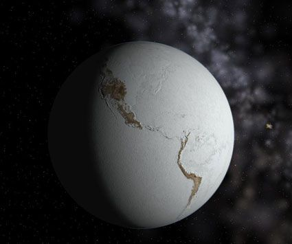 "How ""Snowball Earth"" Could Have Triggered the Rise of Life -  Article by Jennifer Welsh. The retreat of the ice covering ""Snowball Earth"" 700 million years ago might have been the key to the Cambrian explosion that seeded our planet with diverse forms of life."