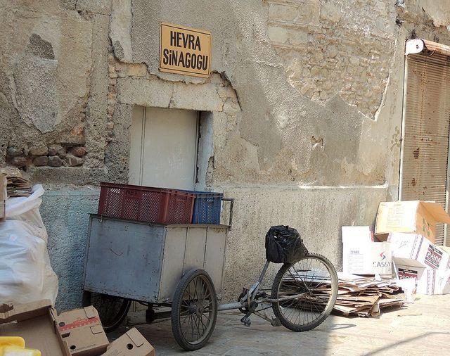 Hevra Synagogue door