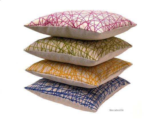 Cojines diseño geometrico / Geometry design cushion Beccatextile