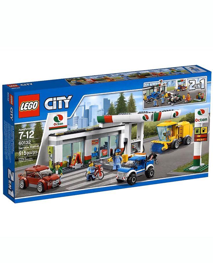 Lego станция технического обслуживания
