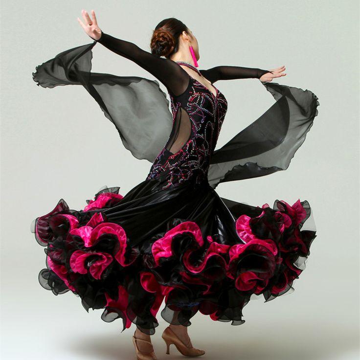 You won't regret it: Exquisite rhinest... at http://shop.dvision.co.za/products/exquisite-rhinestone-ballroom-dance-dress?utm_campaign=social_autopilot&utm_source=pin&utm_medium=pin