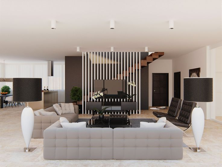 The interiors of houses in Sochi, Architectural Office of Alexandra Fedorova