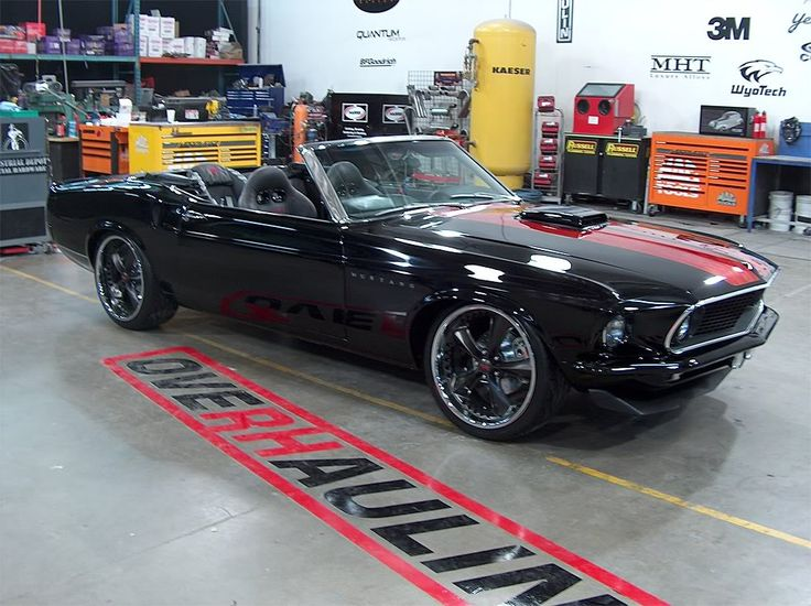 1969 Mustang Mach-1 Foose. oN MY BUCKET LIST! GOING TO HAVE ONE OF THESE SOME DAY!!!