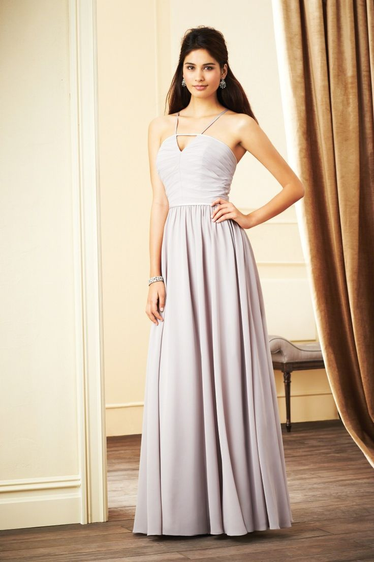 Alfred Angelo Bridesmaid Dress -7272l Size 14 Buttercream