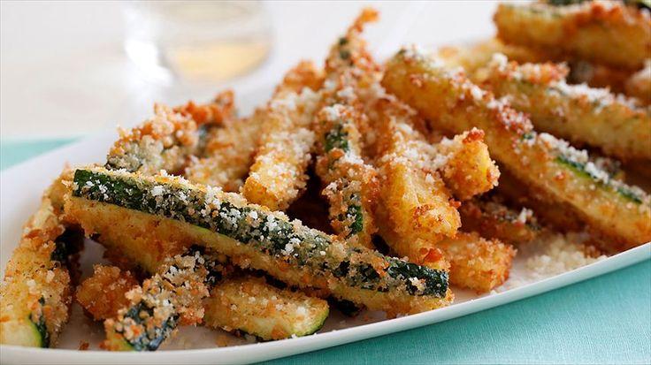 Fried Zucchini Recipe : Giada De Laurentiis : Food Network