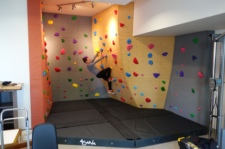 Work out wall for Blake Apts in West Seattle. Wall by Elevate Climbing Walls