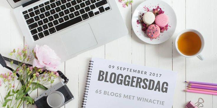 Vind jij het leuk om blog te lezen en volgen? Doe dan snel mee met de leuke bloggersdag en hop langs ruim 60 verschillende blogs. Met winactie!