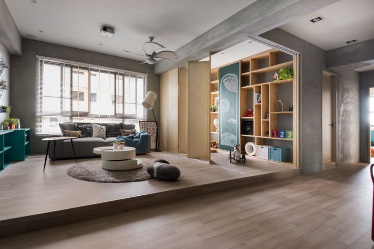 Like the foldable door that segregate the play room and living room
