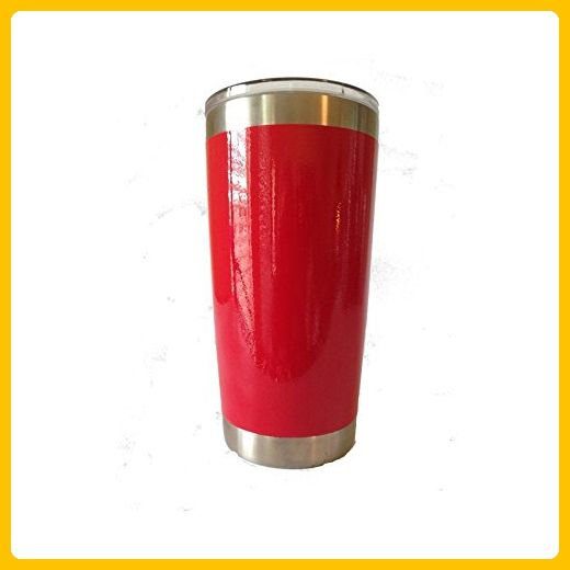 Kapp studio colors this YETI 20 oz tumbler in Truly Red and can custom engrave it for you - Bridesmaid gifts (*Amazon Partner-Link)