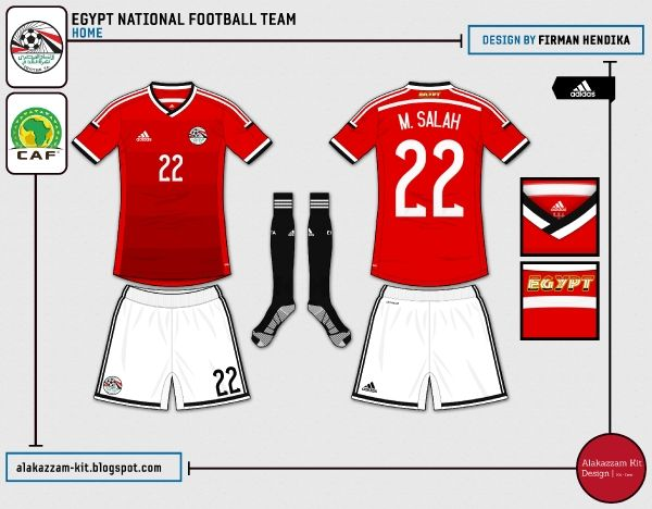 Egypt | #adidas home jersey | 2014-15