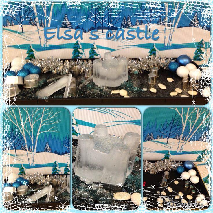 More Frozen fun - Elsa's castle