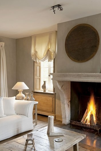 17 Best Images About Windows Flanking Fireplace On