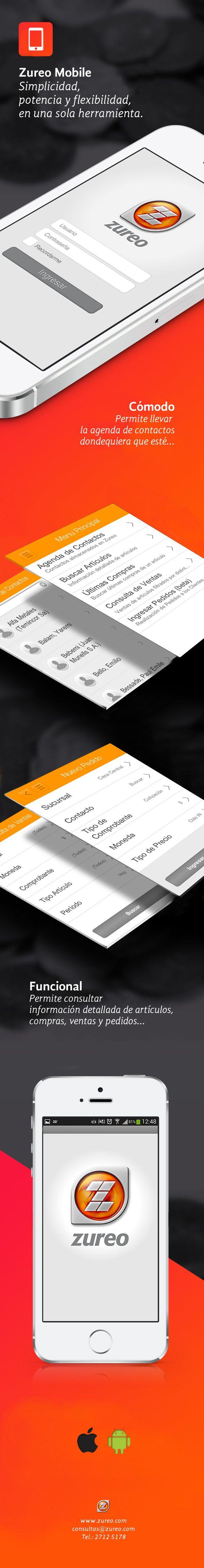 Desarrollo gráfico para Zureo Mobile