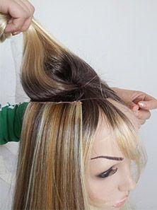 "16"" Wave Human Hair Blend Flip In Hair Extension E42002 - UniWigs ® Official Site"