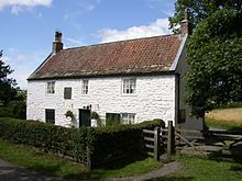 Engineer and railway pioneer George Stephenson's Birthplace in Wylam, Northumberland, England