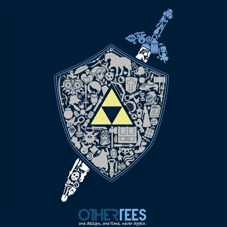 The Legend Forever by thehookshot Shirt on sale until 24 March on othertees.com #legendofzelda