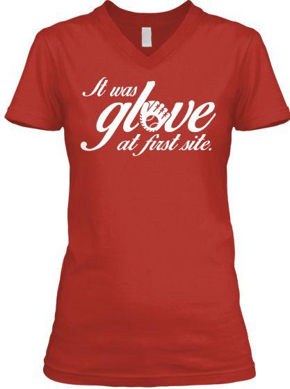 It was Glove at first site shirt   Teespring
