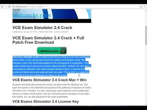 vce player free download full version